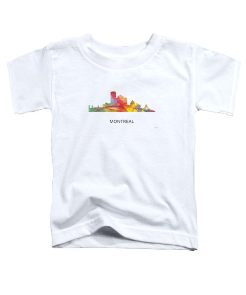 Montreal Que.skyline Toddler T-Shirt