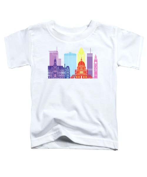 Montreal_v2 Skyline Pop Toddler T-Shirt
