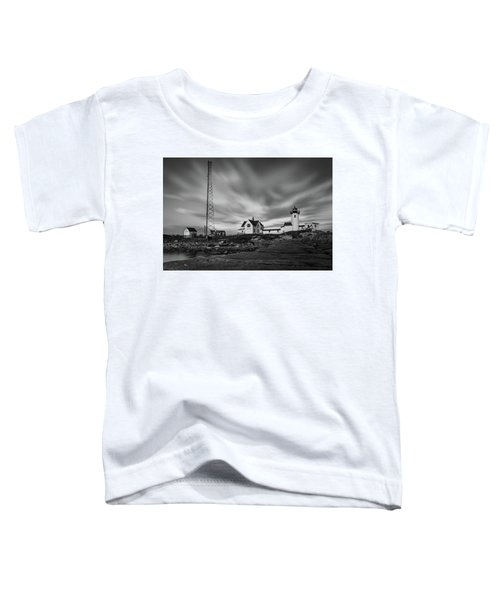 Moody Sky At Eastern Point Lighthouse Toddler T-Shirt