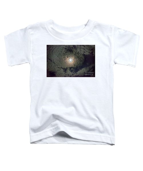 Moon And Clouds Toddler T-Shirt