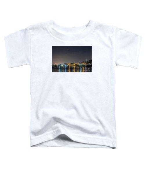 Moon Over Aquatic Park Toddler T-Shirt