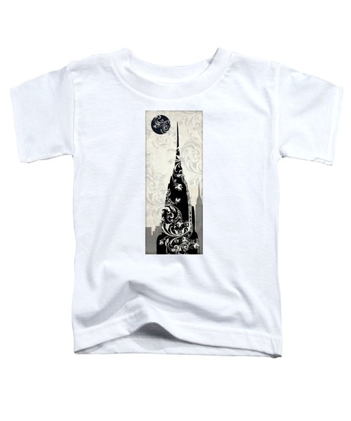 Moon Over New York Toddler T-Shirt