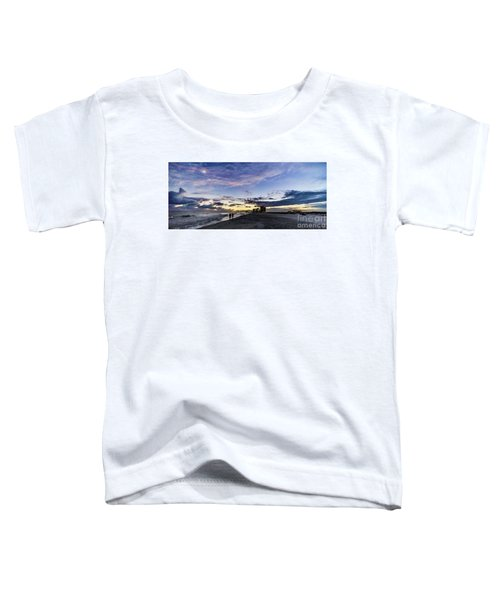 Moonlit Beach Sunset Seascape 0272b1 Toddler T-Shirt