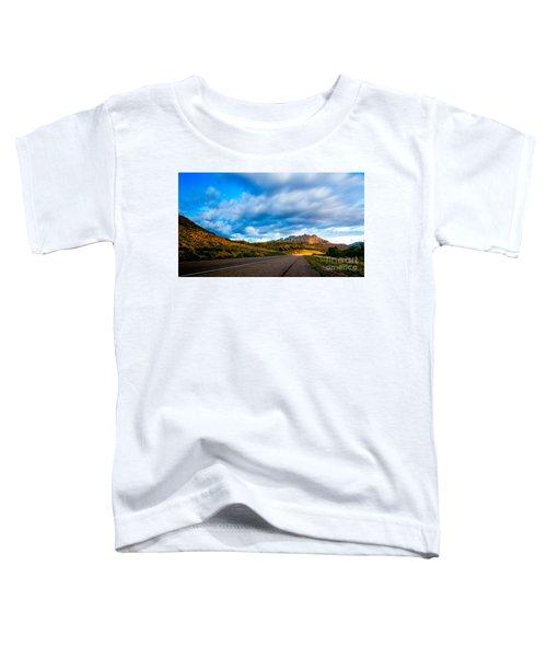Moonlit Zion Toddler T-Shirt