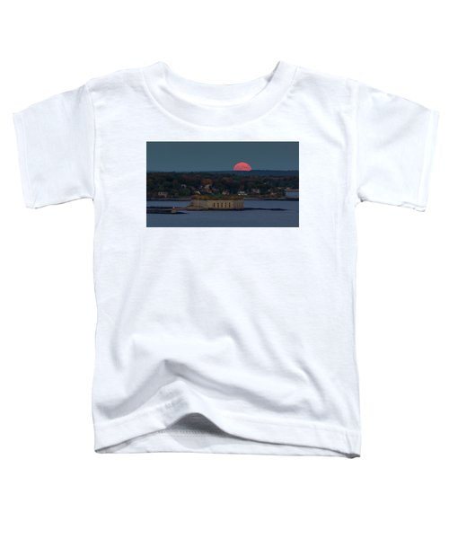 Moonrise Over Ft. Gorges Toddler T-Shirt