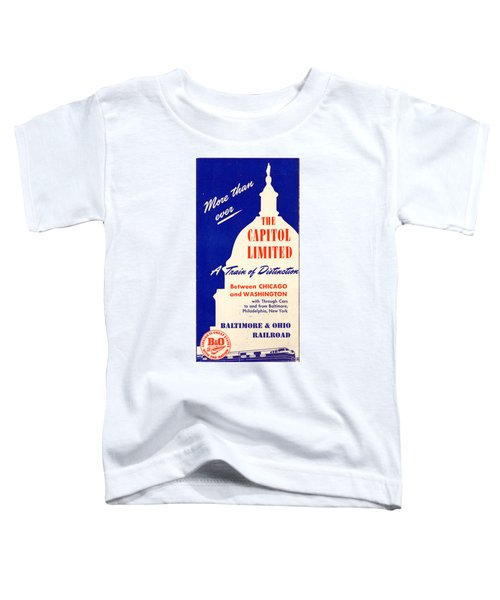 More Than Ever, The Capitol Limited Toddler T-Shirt