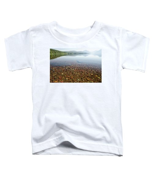 Morning At Lake Mcdonald Toddler T-Shirt