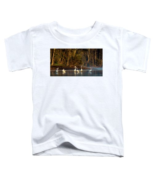 Morning On The River Toddler T-Shirt