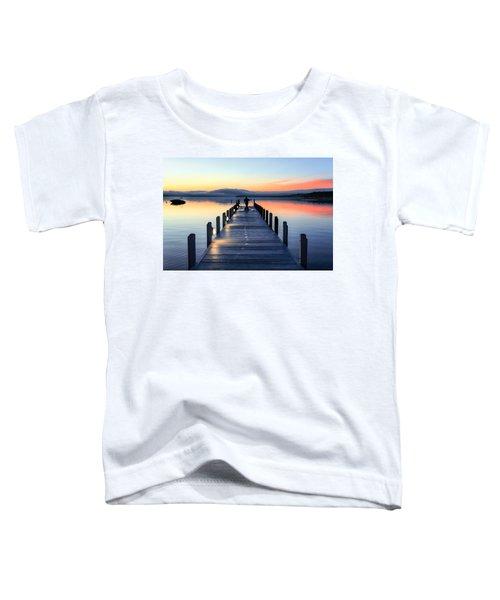 Morning Pier Toddler T-Shirt