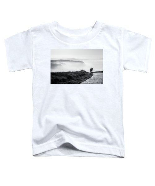 Morning Walk With Sea Mist Toddler T-Shirt
