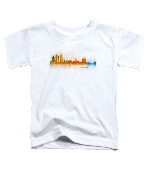 Moscow City Skyline Hq V3 Toddler T-Shirt