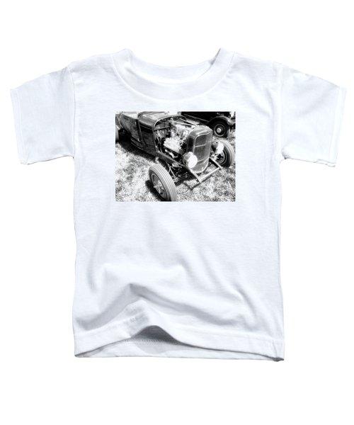 Motor Wheel Bw Toddler T-Shirt