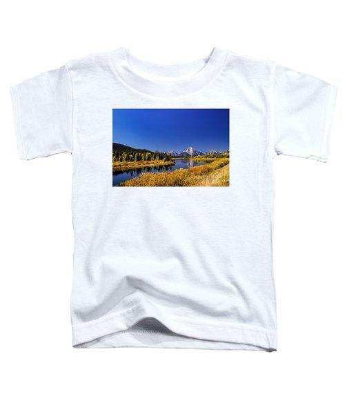 Mount Moran Toddler T-Shirt