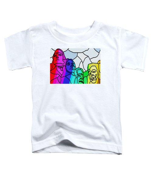 Mount Rushmore Toddler T-Shirt