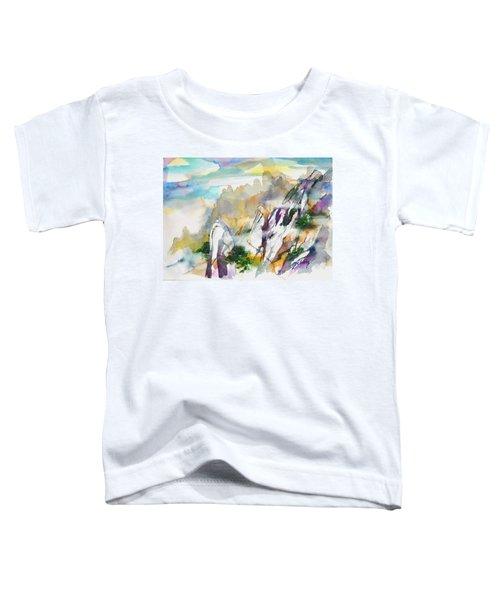 Mountain Awe #2 Toddler T-Shirt