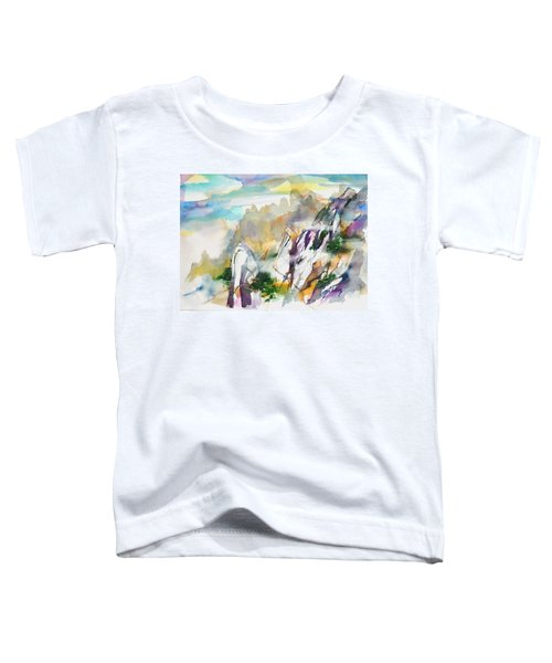 Mountain Awe #2 Toddler T-Shirt