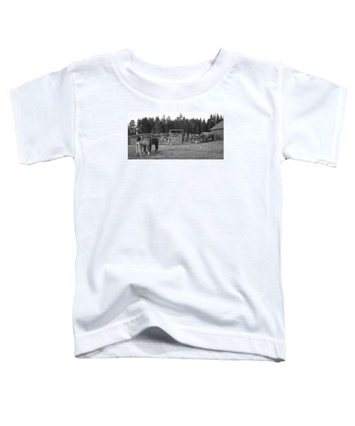 Mountain Corrals Toddler T-Shirt