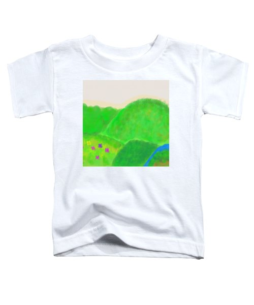Mountains Of Land And Love Toddler T-Shirt