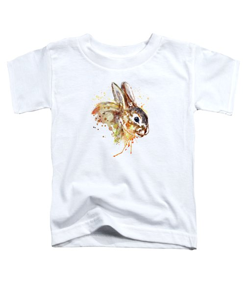 Mr. Bunny Toddler T-Shirt by Marian Voicu