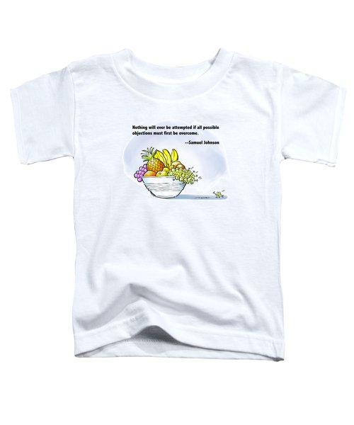 Mr. Grape And Dr. Johnson Toddler T-Shirt