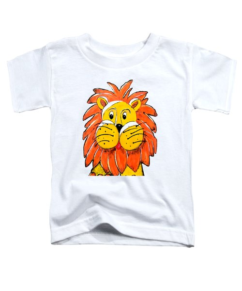 Mr. Lion Toddler T-Shirt by Tami Dalton
