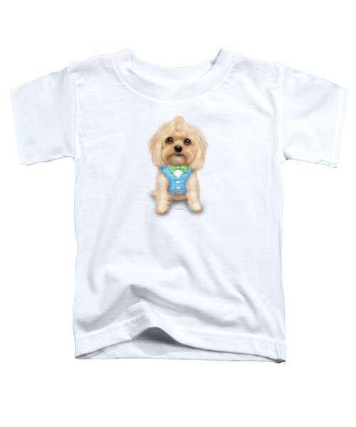 Mr.toby Waffles Toddler T-Shirt