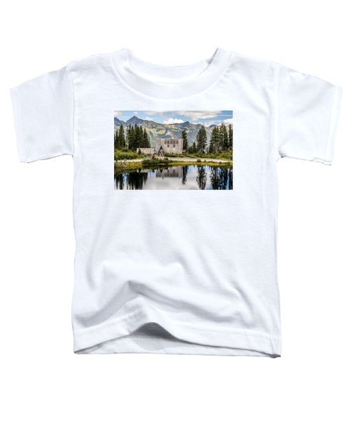 Mt Baker Lodge In Picture Lake 1 Toddler T-Shirt