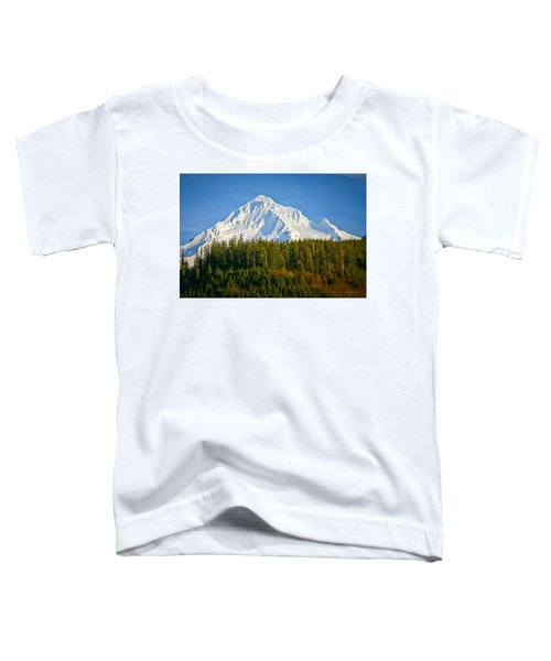 Mt Hood In Winter Toddler T-Shirt