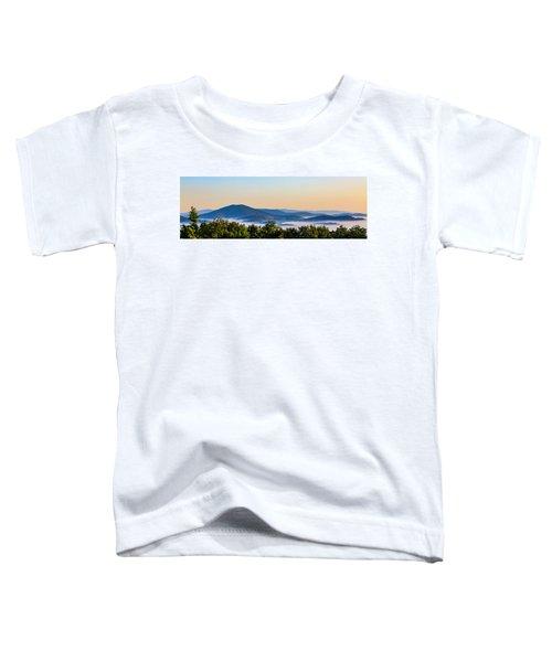 Mt. Jefferson Cloud Lake Toddler T-Shirt