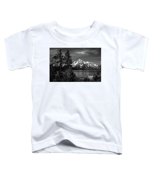 Mt. Moran And Trees Toddler T-Shirt