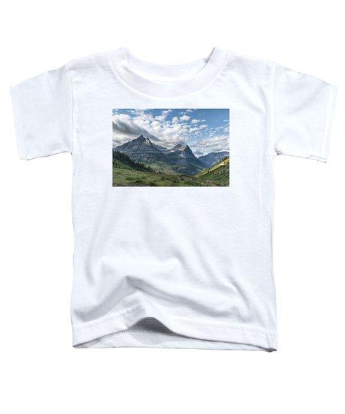 Mt. Oberlin From Logan Pass Toddler T-Shirt