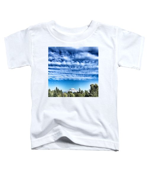 Mt Rainier Toddler T-Shirt
