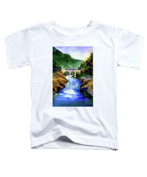 Mtn Quarries Rr Bridge Toddler T-Shirt