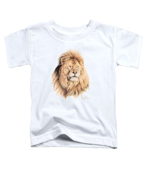 Mufasa Toddler T-Shirt by Lucie Bilodeau