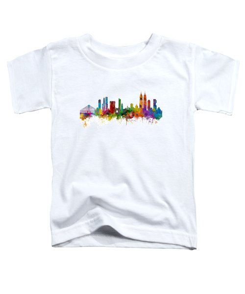 Mumbai Skyline India Bombay Toddler T-Shirt