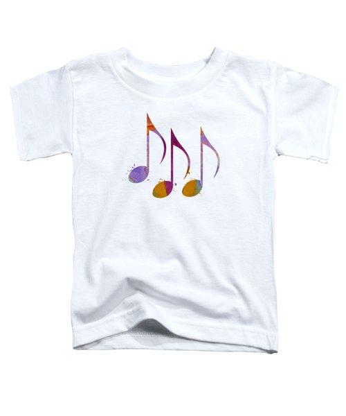 Musical Notes Toddler T-Shirt
