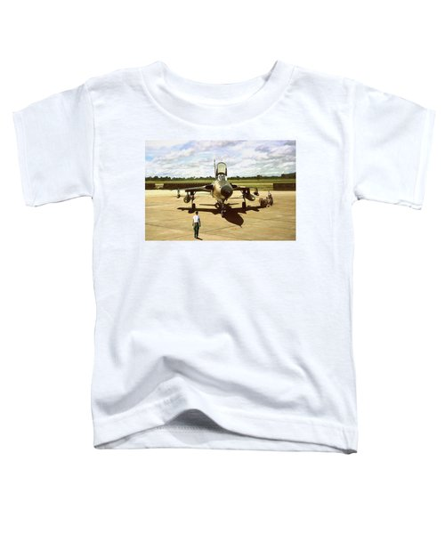 My Baby F-105 Toddler T-Shirt