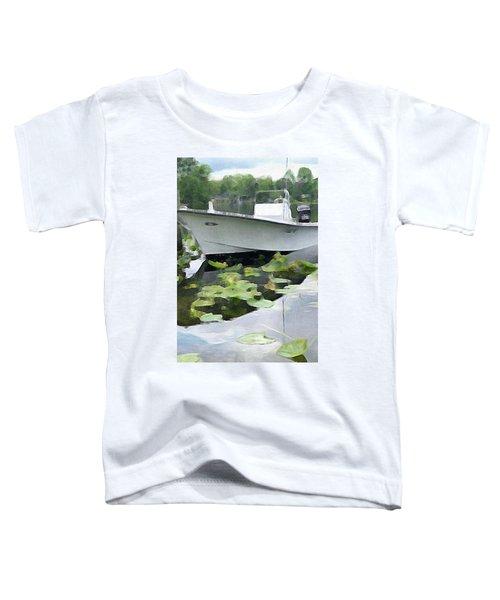 My Grandson's Boat Toddler T-Shirt