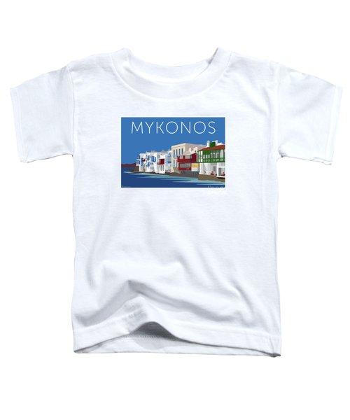 Mykonos Little Venice - Blue Toddler T-Shirt