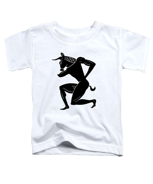 Mythology: Minotaur Toddler T-Shirt by Granger