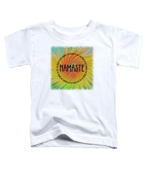 Namaste Divine And Honor Swirl Toddler T-Shirt