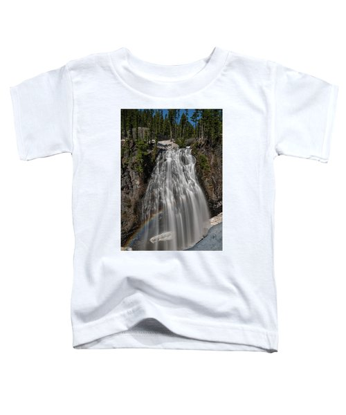 Narada Falls In Winter Toddler T-Shirt