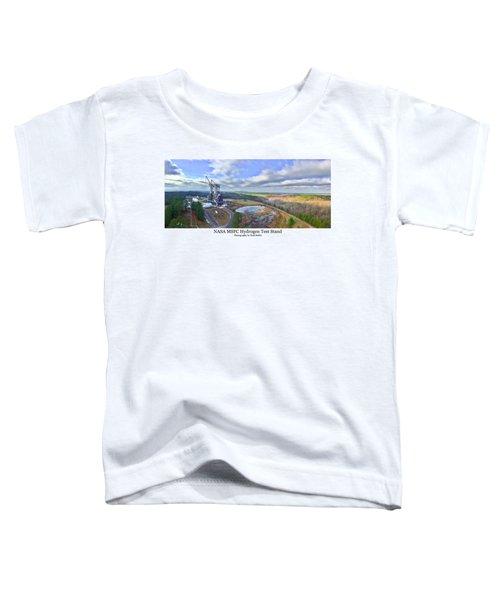 Nasa Msfc Hydrogen Test Stand - Original Toddler T-Shirt