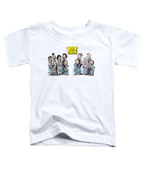 National Conversation About Race Toddler T-Shirt