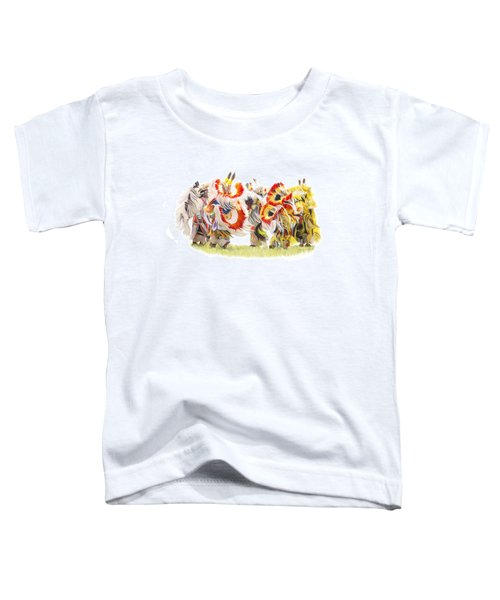 Native Color In Motion Toddler T-Shirt
