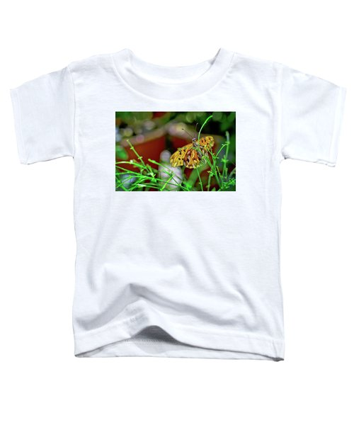 Nature - Butterfly And Plants Toddler T-Shirt