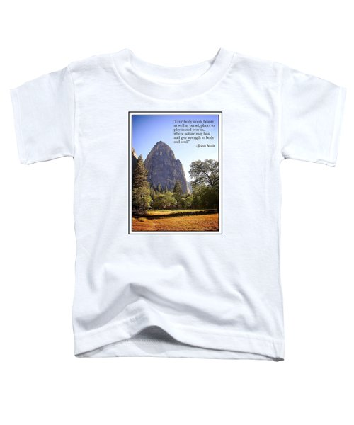 Natures Cathedral Toddler T-Shirt