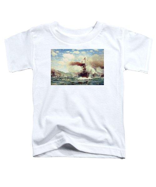 Naval Battle Explosion Toddler T-Shirt
