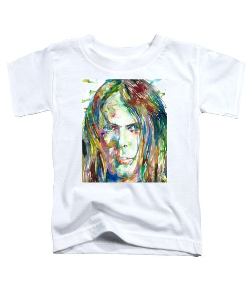 Neil Young Portrait Toddler T-Shirt
