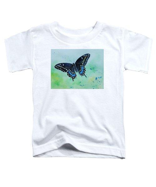 Neon Swallowtail Toddler T-Shirt